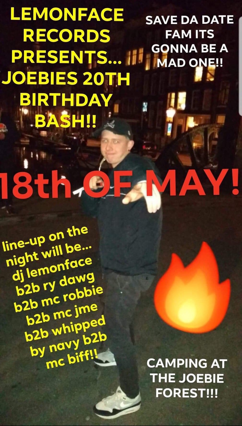 Eskimo joebies 20th b day bash - meme