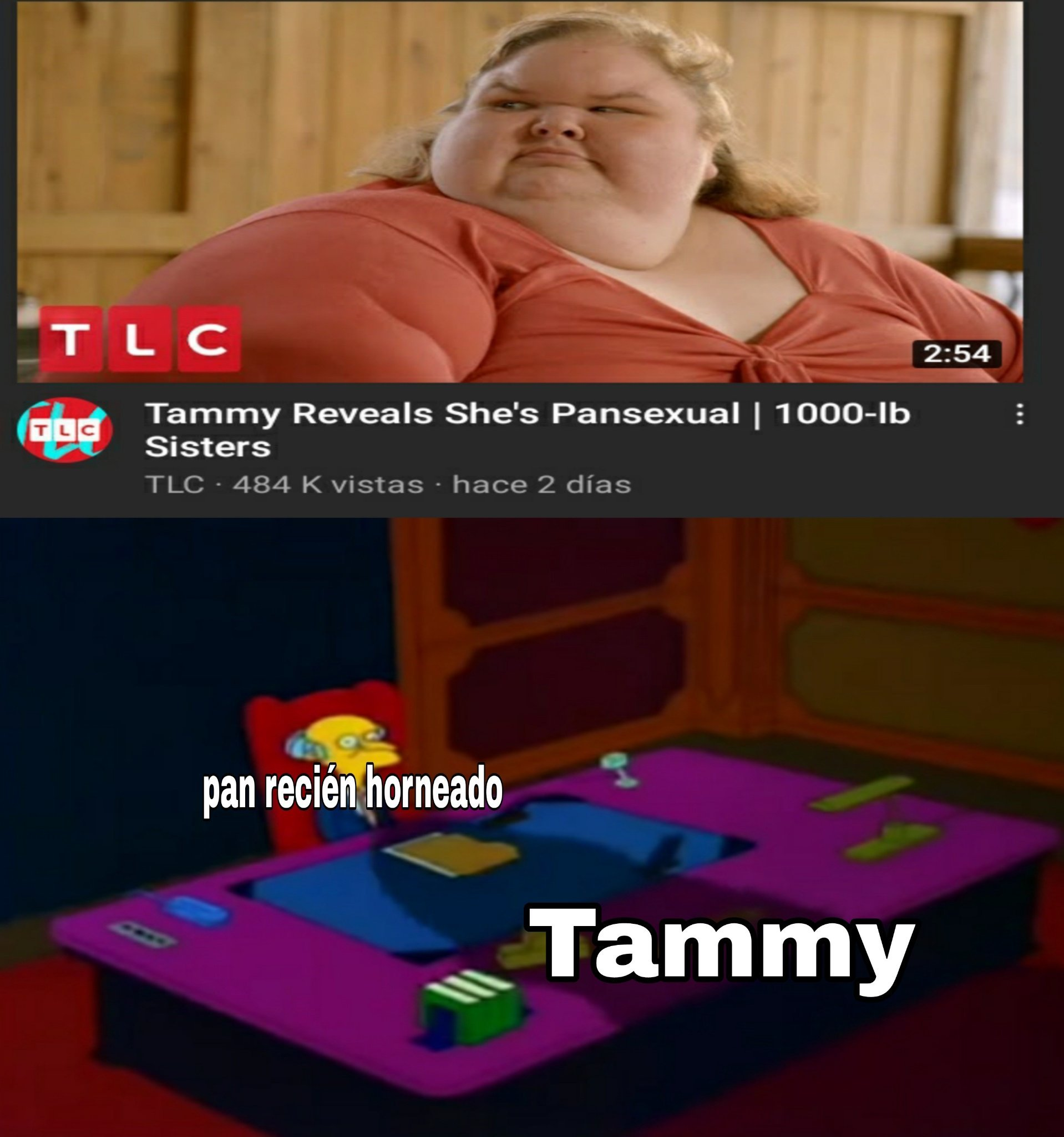 Tammy recién horny - meme
