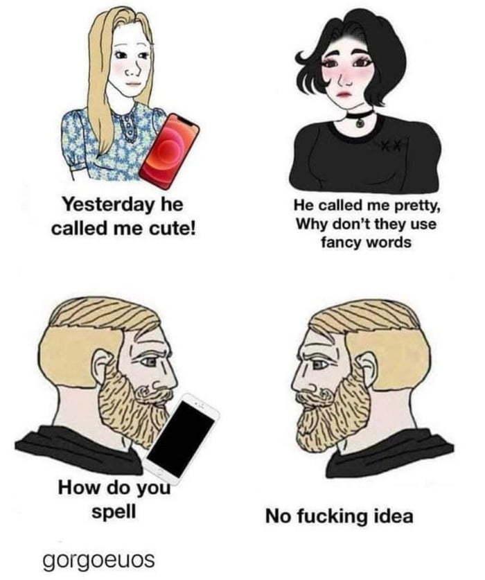 Georgous - meme