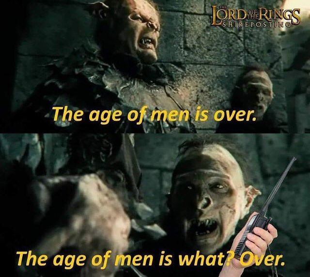 Another lotr meme, over