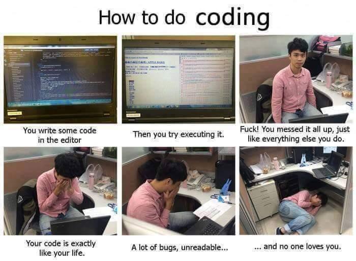 How to Code - meme