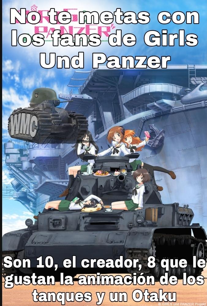 No podemos negar que la animación de los tanques está buena - meme