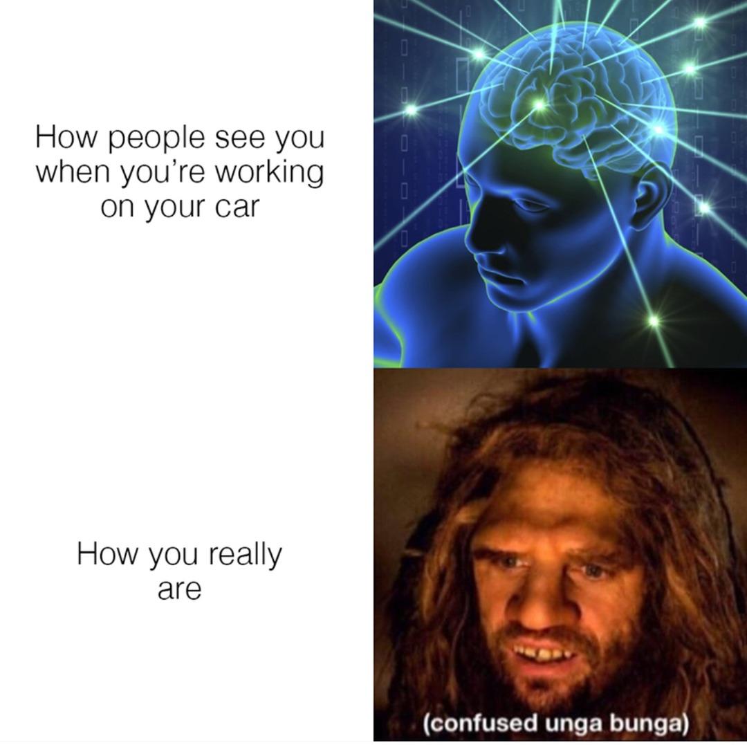 Project car owners unite! - meme