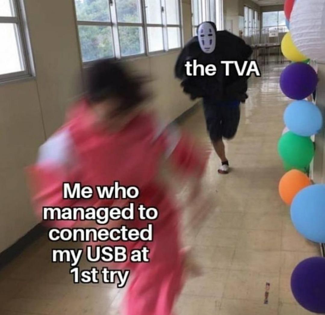 The lucky variant - meme