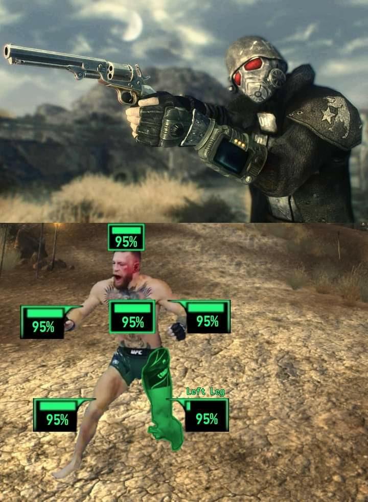McGregor in Fallout - meme