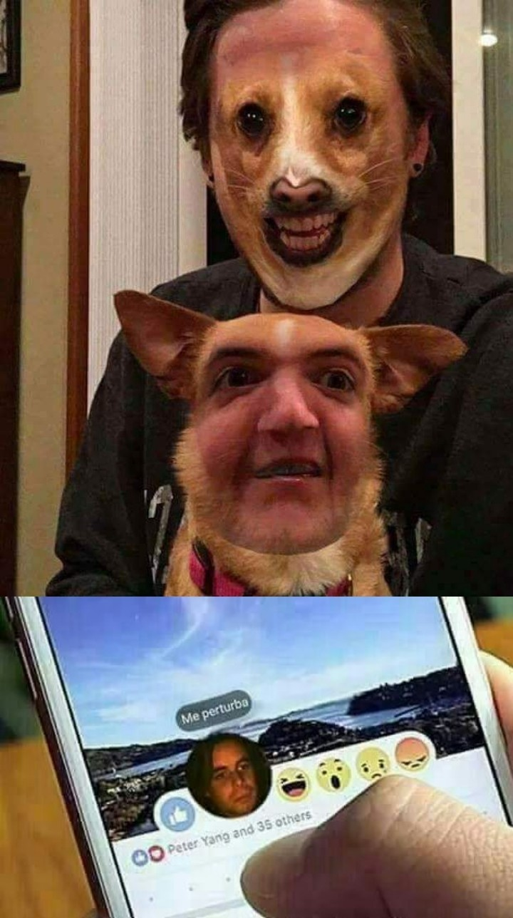 Muy perturbador - meme