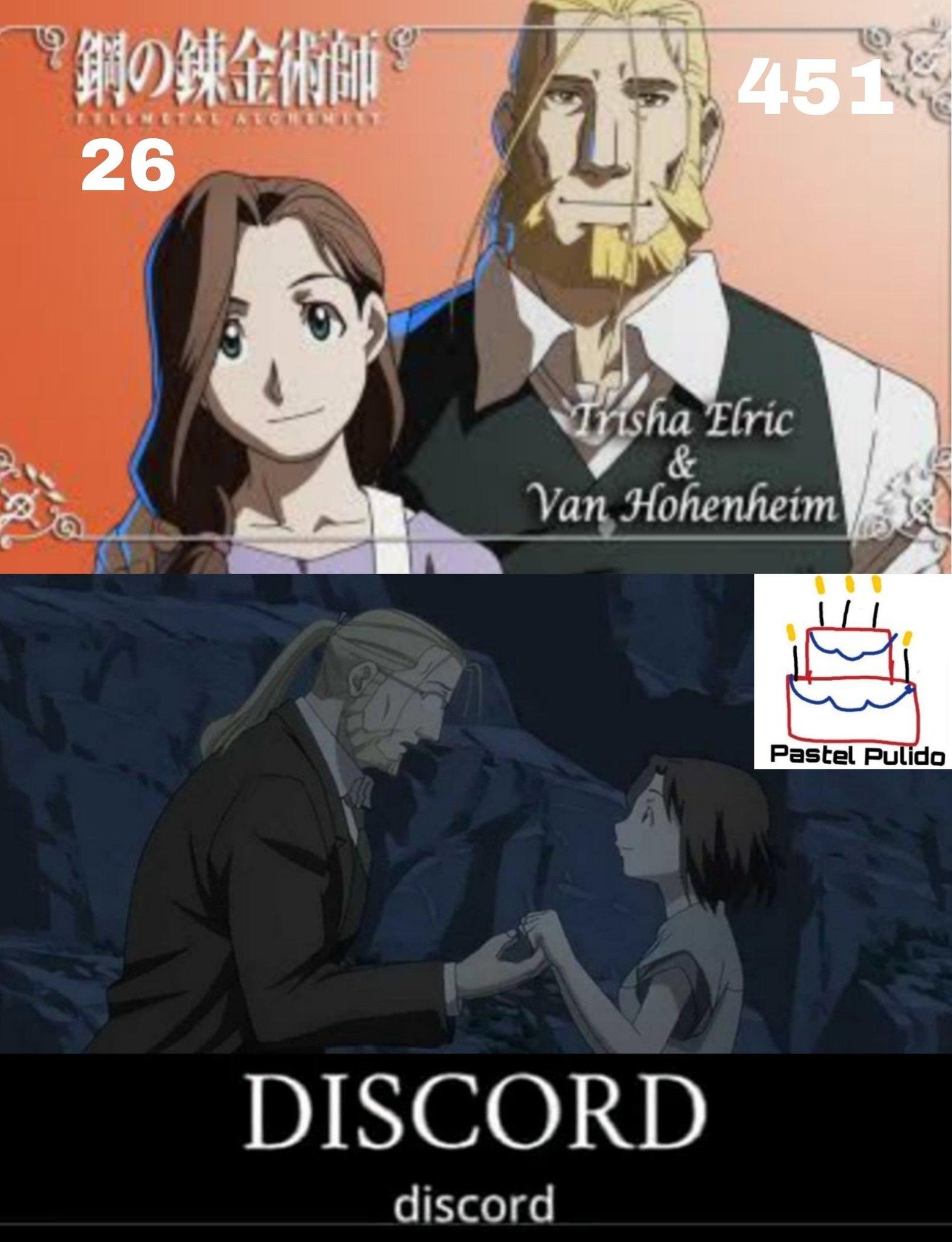 De hecho en el manga no están casados, eso es un error del anime. - meme