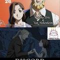De hecho en el manga no están casados, eso es un error del anime.