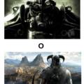 Fallout, para algunos el Elder Scrolls con armas de fuego y mutantes y Elder Scrolls, para algunos el Fallout con magia y bichos mágicos mutantes