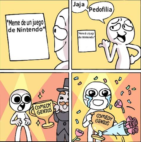 Menos mal que ya están reconociendo que por ser jugador de Mario no tienes que ser Mordo - meme