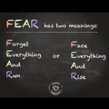 FEAR. rise or fall?