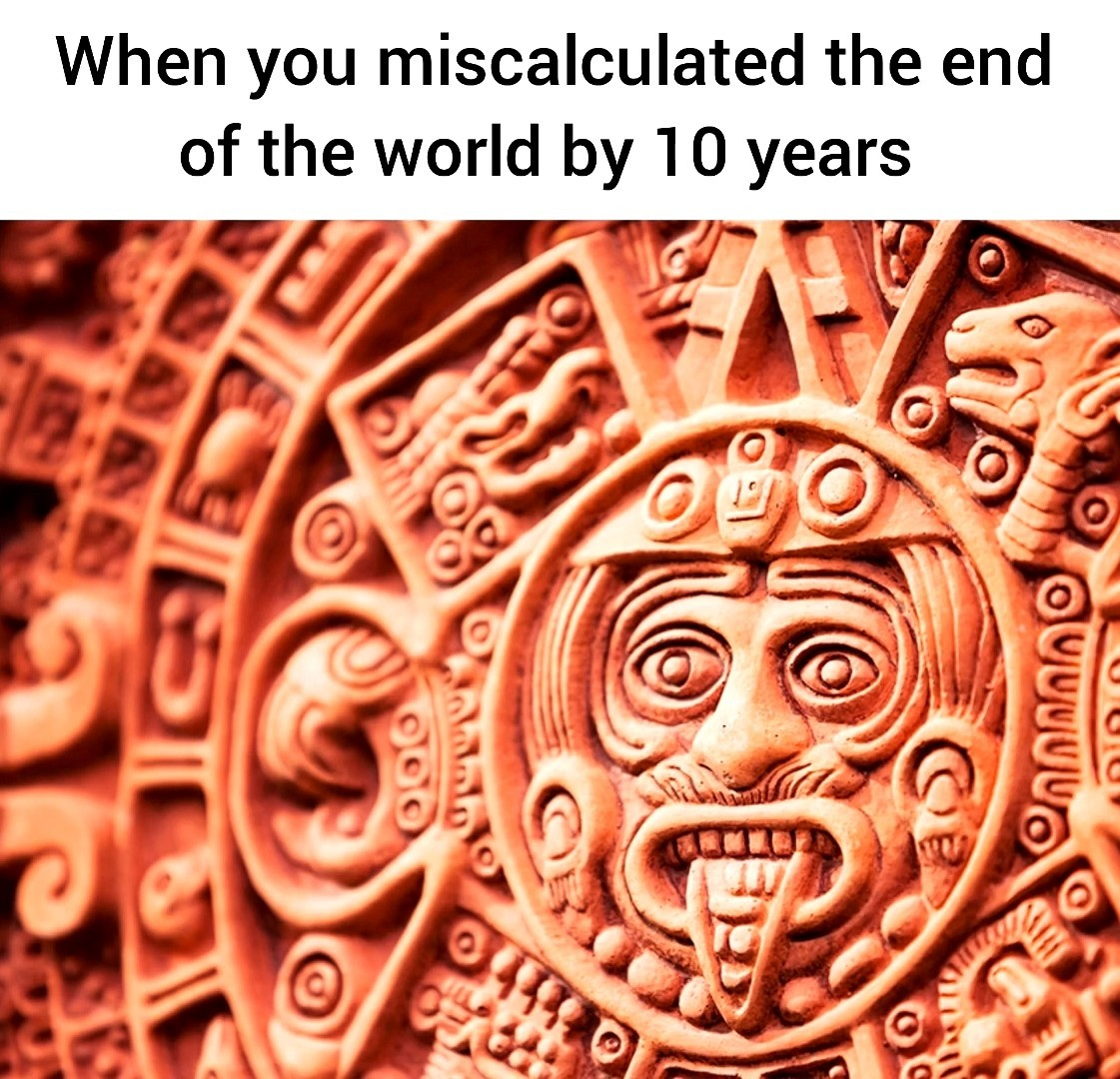 The real doom has come - meme