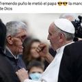 El papa violento