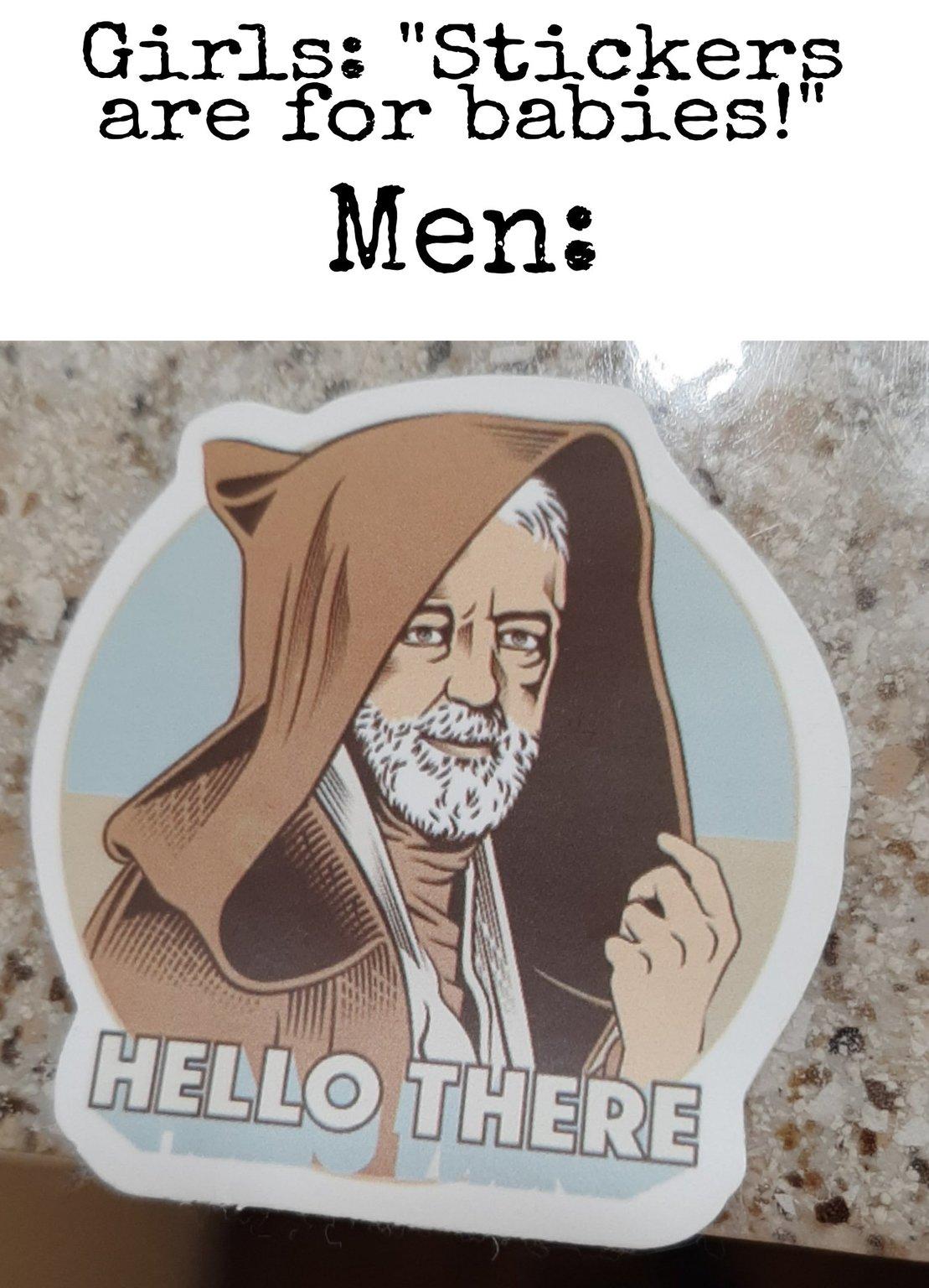 Fresh OC (⌐■ ͜ ■) got this sticker from my cousin - meme