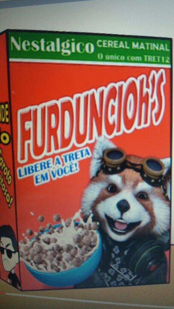 Meu cereal preferido - meme
