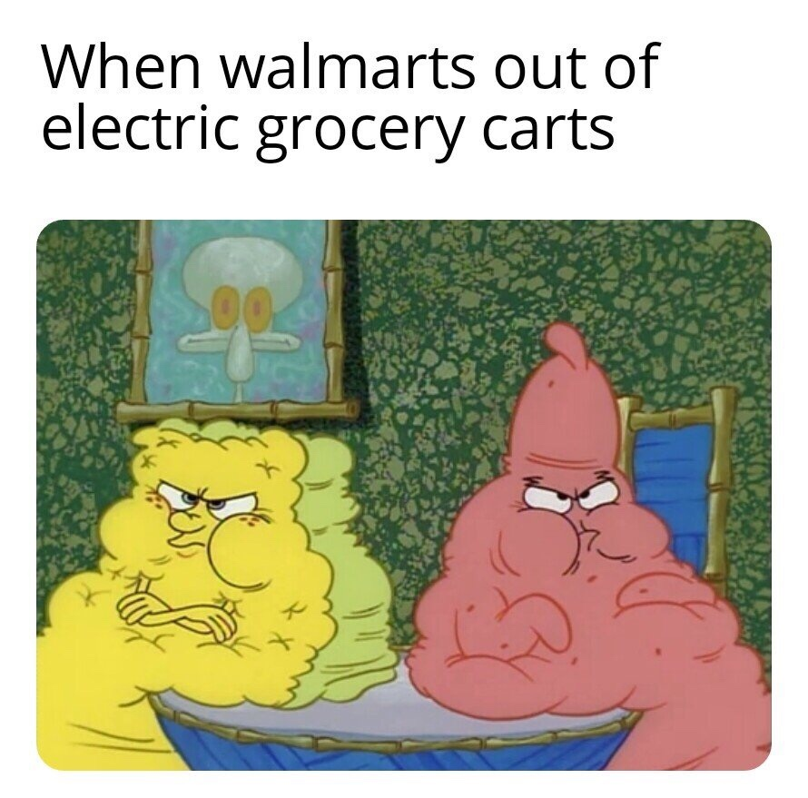 damn man, these niqqas are all over the walmart - meme