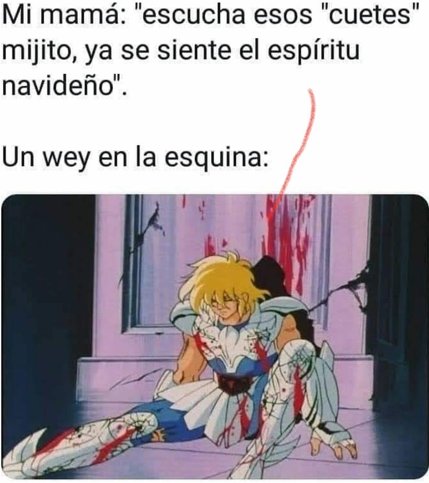 Navidad latinoamericana - meme