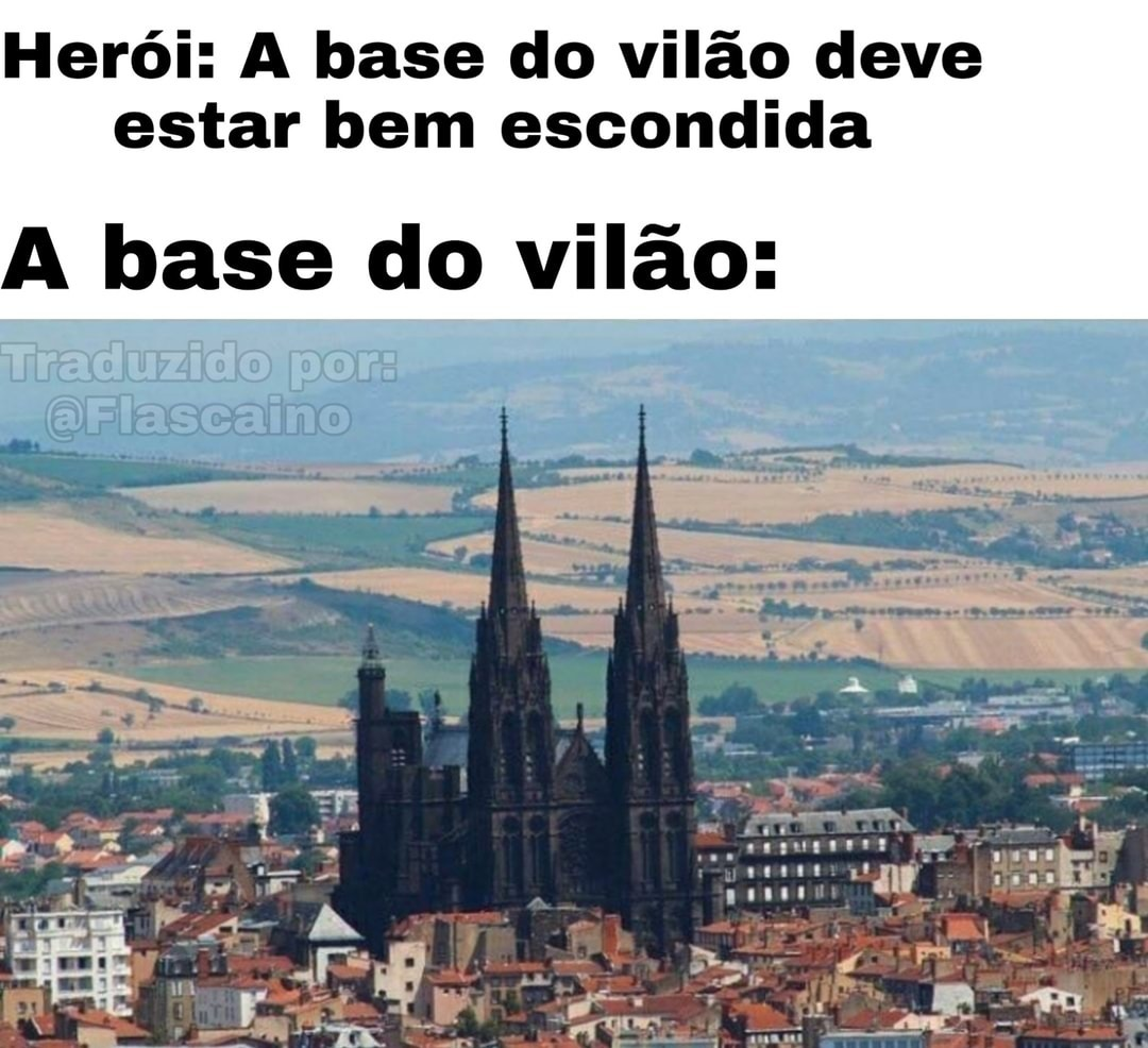 Base do Vilão - meme