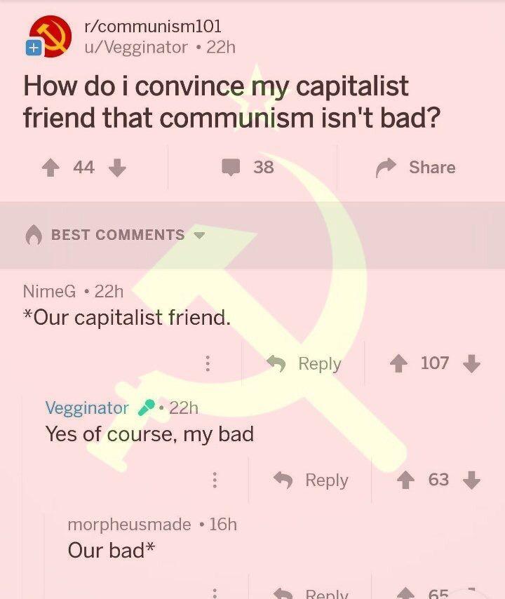 Communism 100 - meme