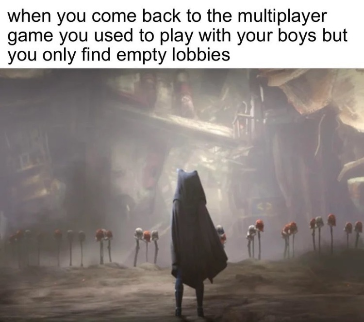 it's a ghost town now - meme