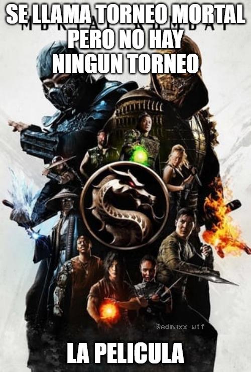 Mortal Kombat (2021) - meme