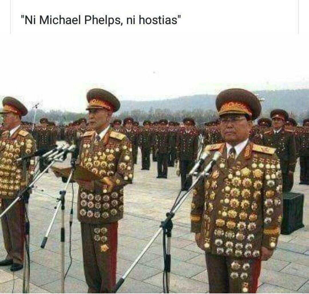 Michael Phelps? Principiante... - meme