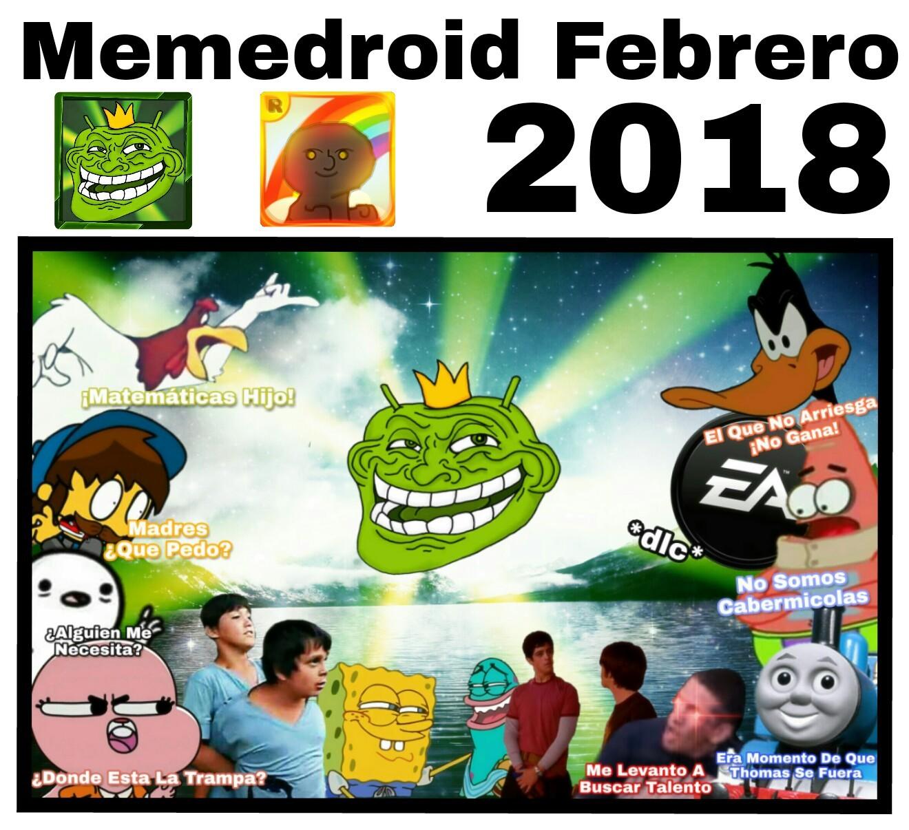 Memedroid Febrero
