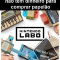 o título tá montando o Nintendo labo