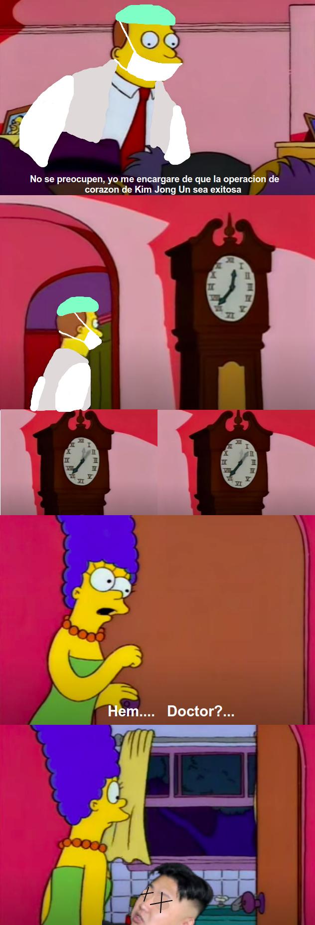 Smithers, creo que la cagamos - meme