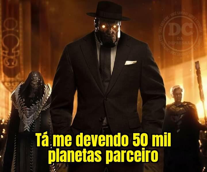 Darkseid agiota - meme