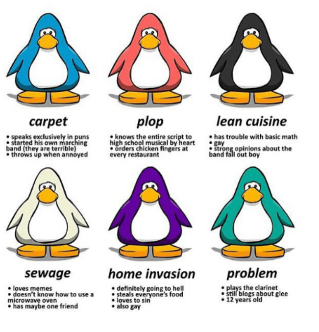 Penguin - meme