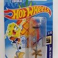 Monociclo bob esponja hotwheels