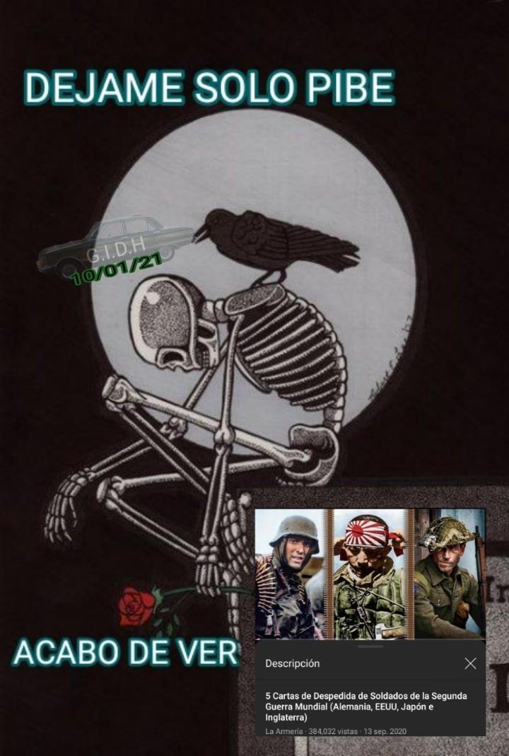 En mí opinión, la del soldado japonés y el Estadounidense son las más tristes :( - meme