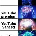 O título foi ver youtube