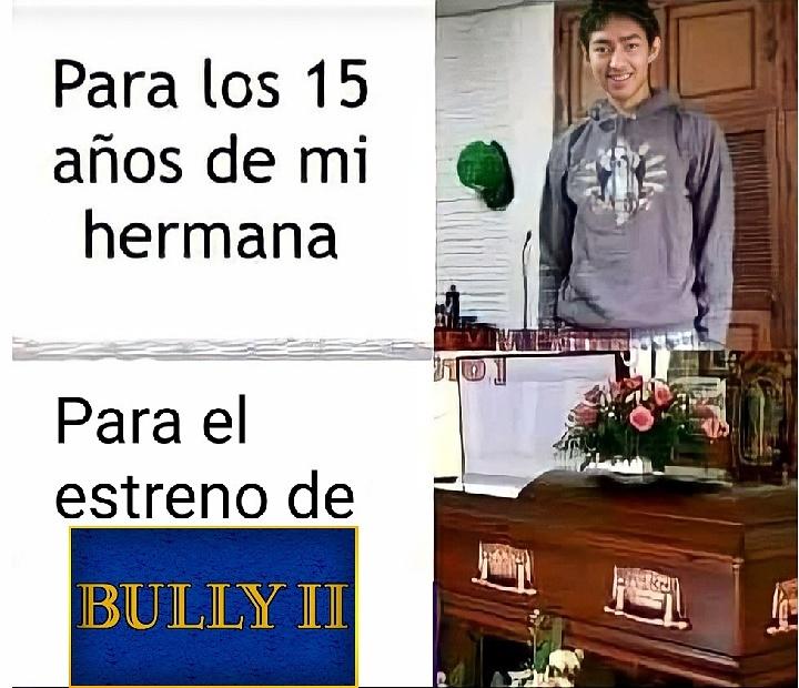Bully 2 se estrenara en el ? (Remake) - meme