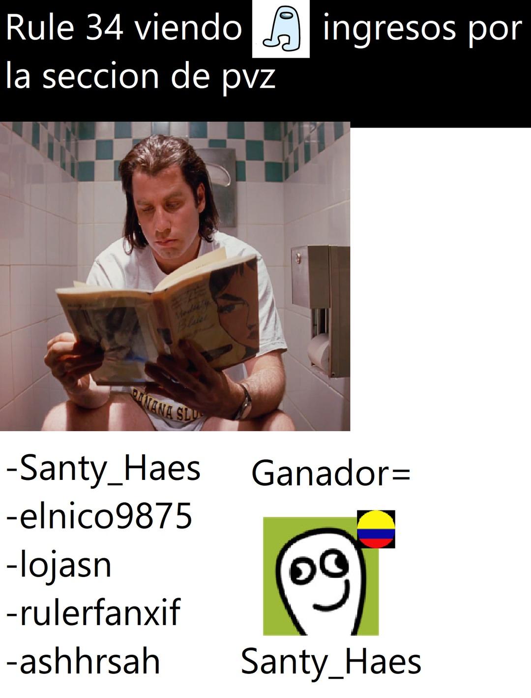 Santy_Haes ataka otra vez - meme