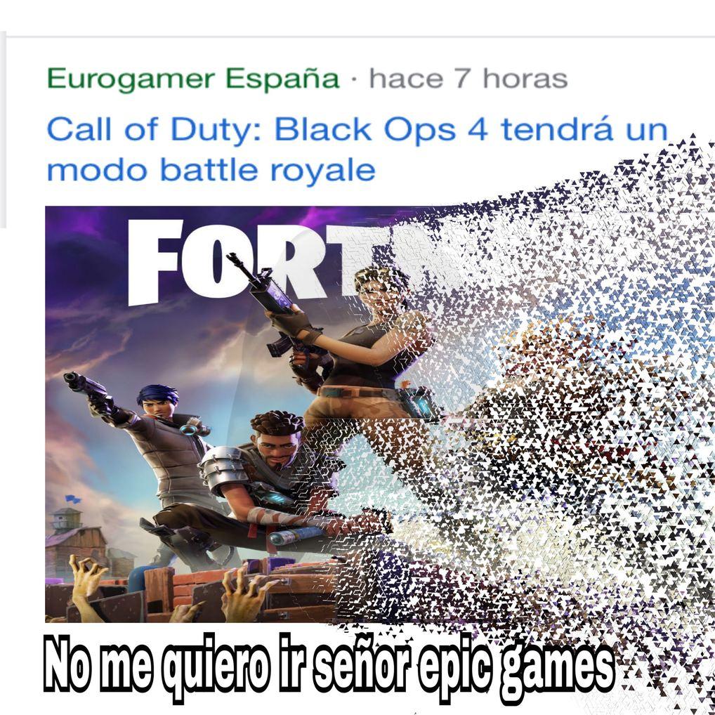 rip fornite - meme