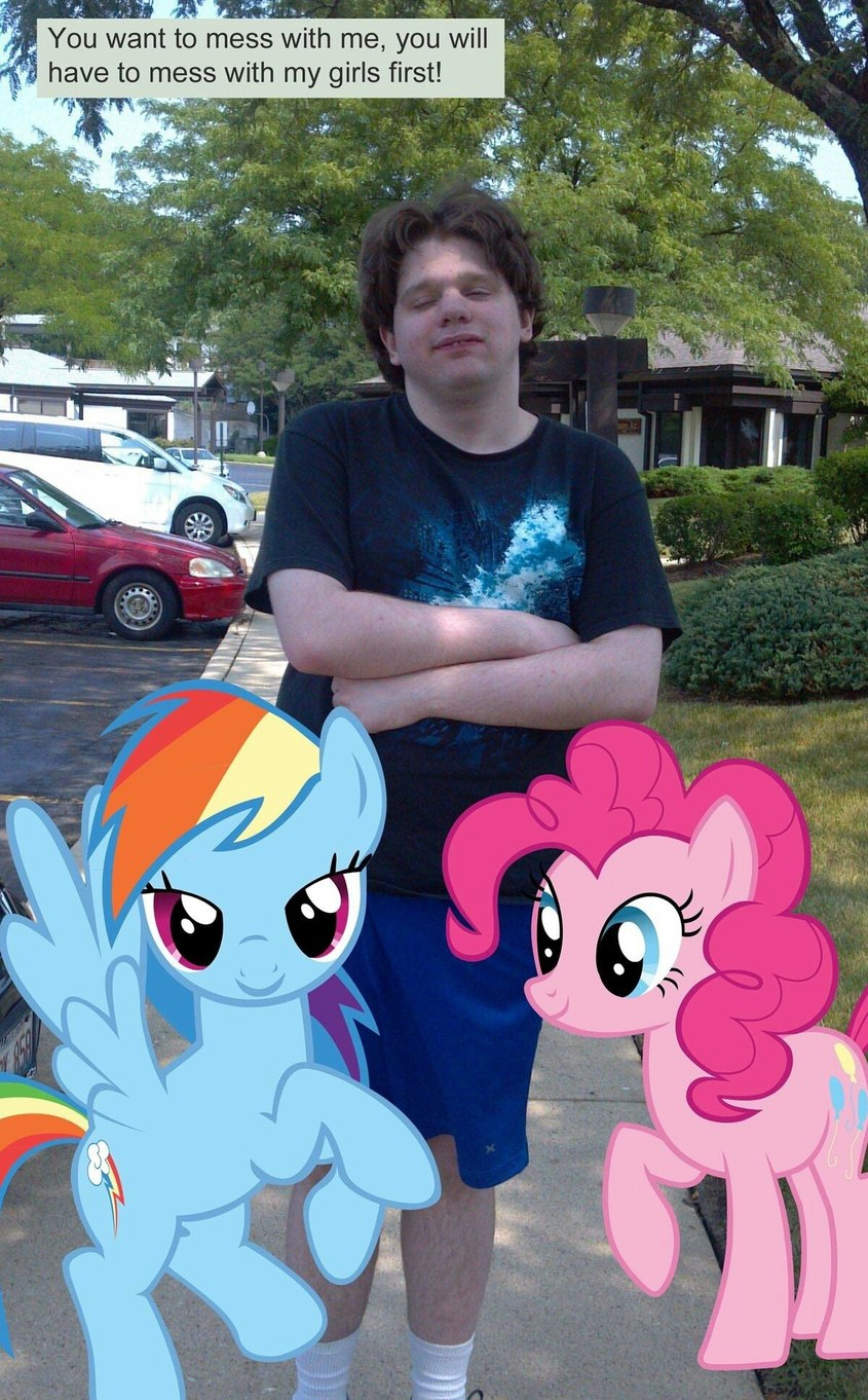 Average memedroider with a pony pfp