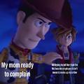 mom its o..NO