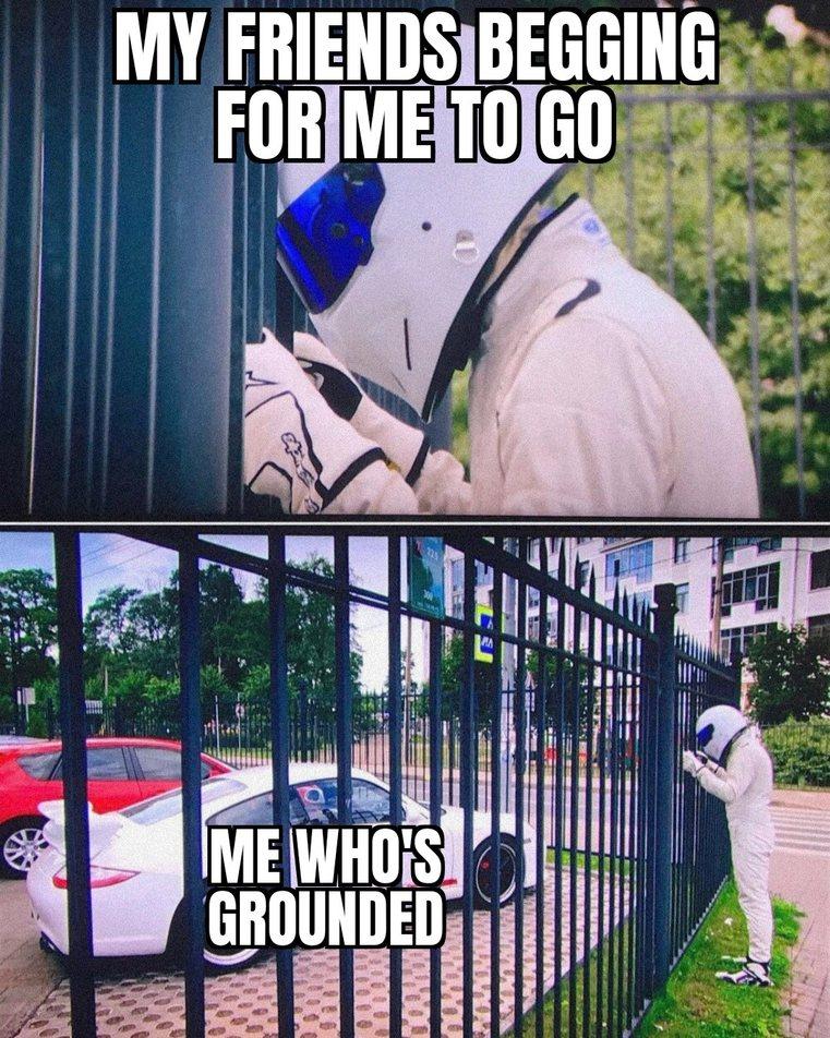 A bad Stig is a sad Stig - meme