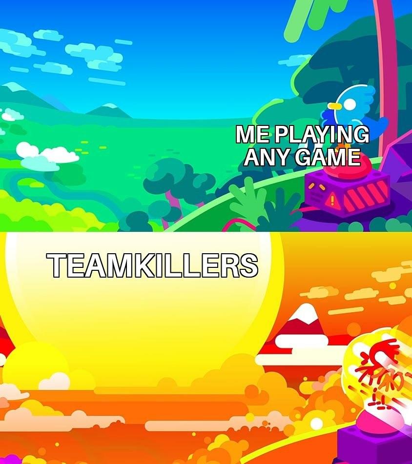 Team killing - meme