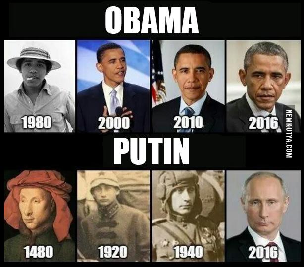 Putin vs. Obama - meme