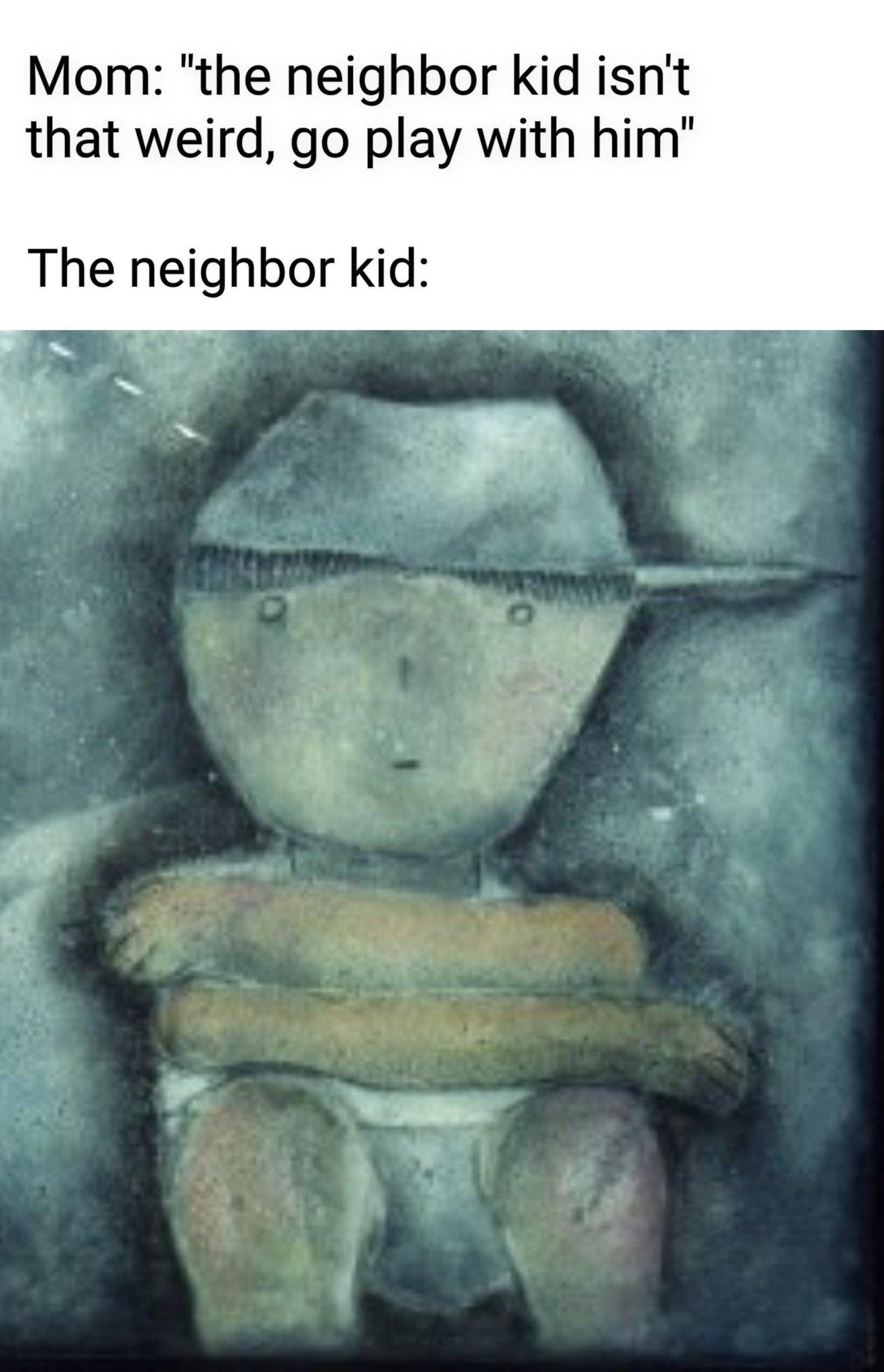 Poor kid - meme