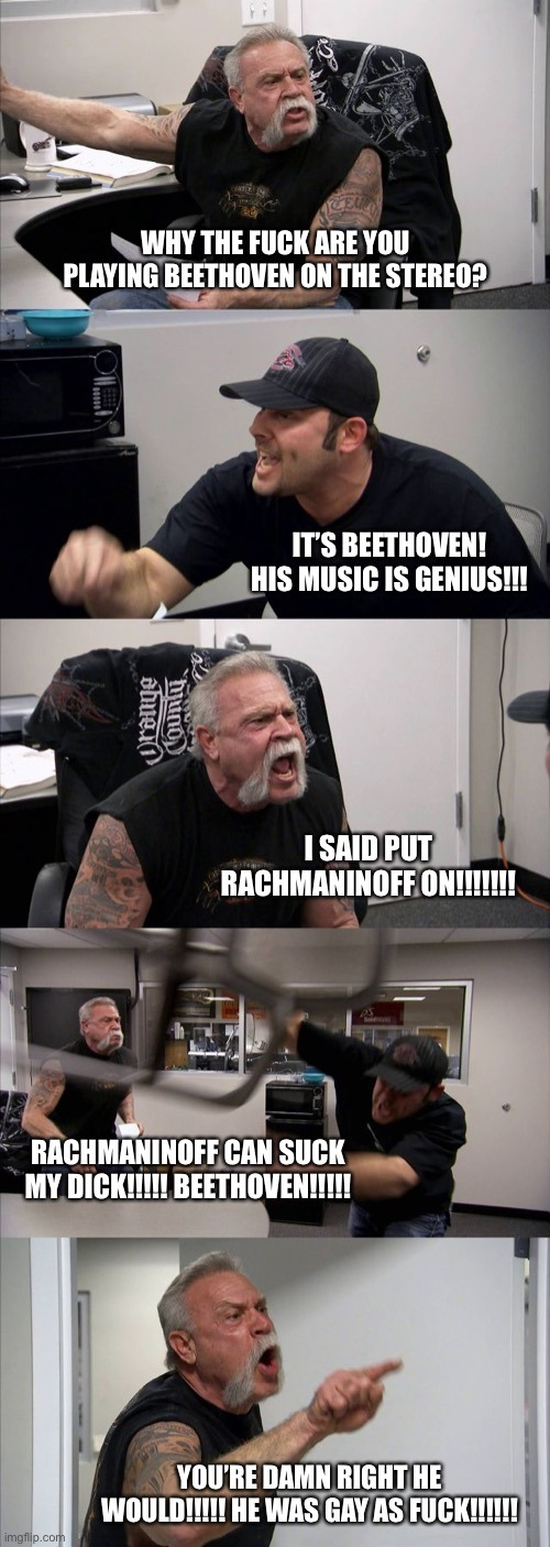 It's Western Art Music, Bitches!!!! - meme