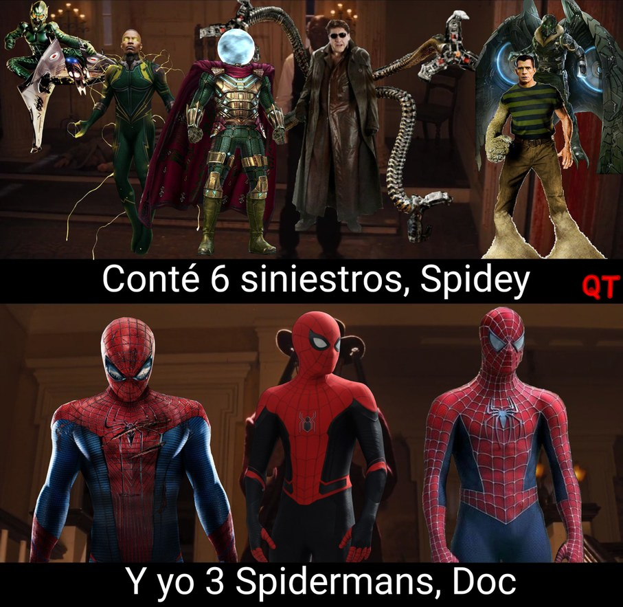 Spiderman, Spiderman, tararara - meme