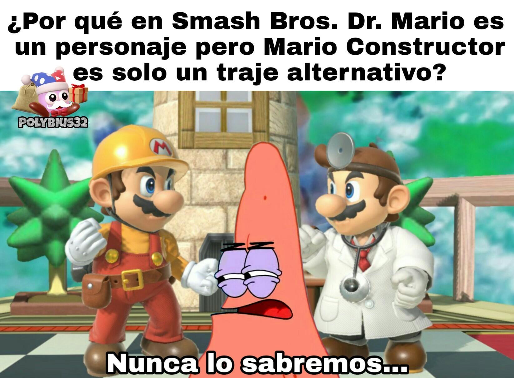 #MarioConstructor4SoulCalibur - meme