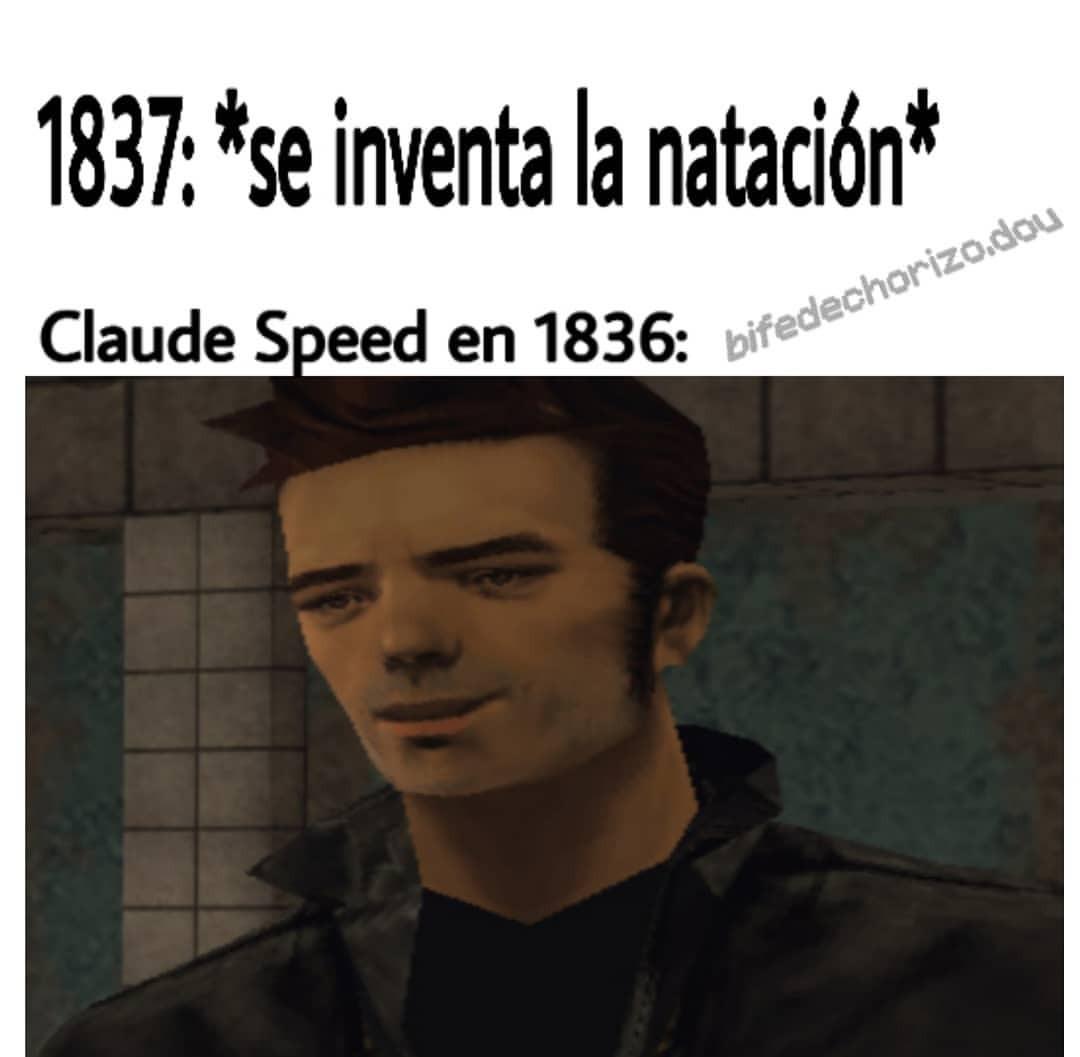 Claude  Speed - meme
