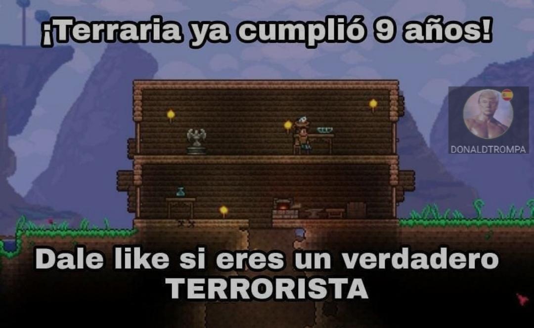 Yo soy terrorista, y tu? - meme