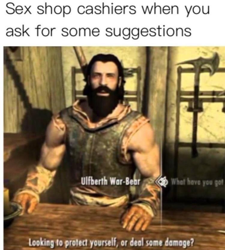 deal some damage - meme