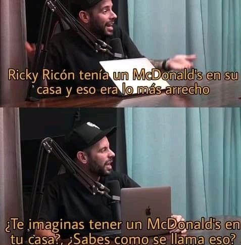 Ricky Ricon - meme